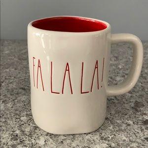 Rae Dunn FA LA LA! Mug